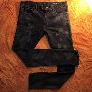 SAINT LAURENT Jeans Skinny Distressed 32 MSRP $750